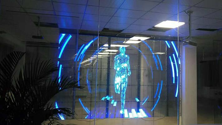 trasparent ledwall corsa